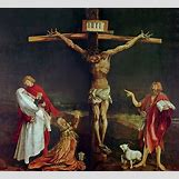 Isenheim Altarpiece Crucifixion | 1978 x 1800 jpeg 369kB