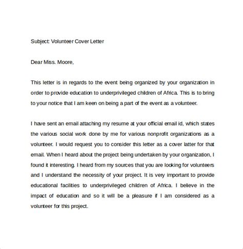 email cover letter     documents
