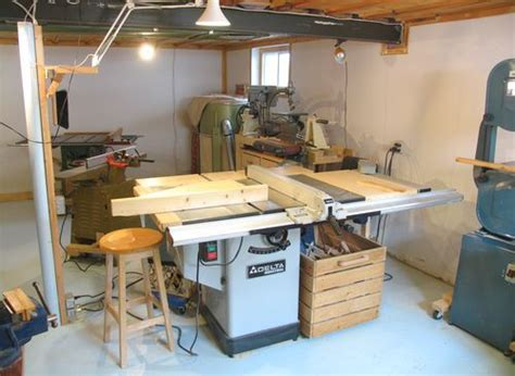 images  tablesaw outfeed table  pinterest