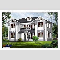 Two Storey Kerala House Designs  818