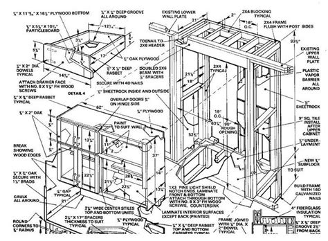 woodworking plans kitchen cabinets   build diy woodworking blueprints