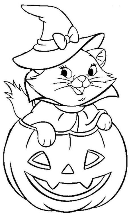 disney halloween coloring sheet  kids picture