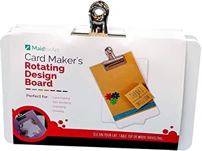 amazoncom card makers rotating design board  totally