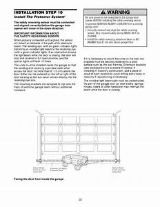 Craftsman 1395364812 User Manual 1  2 Hp Garage Door Opener