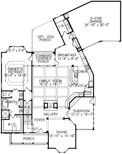 sunroom floor plans cheery corner sunroom 15682ge 1st floor master suite