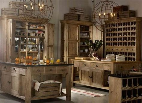 Rustic, Almost Medieval Kitchen