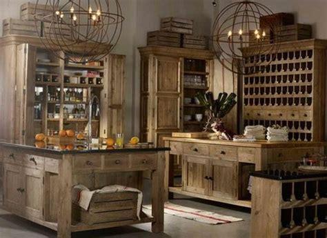 Rustic, Almost Medieval Kitchen  Interior Design Kitchen