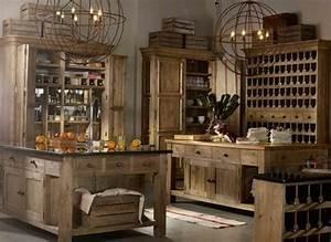 Rustic, almost medieval kitchen | Interior Design: Kitchen ...