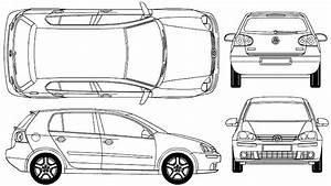 Dimensions Golf 5 : car blueprints volkswagen golf v mk5 a5 1k 5 door blueprints vector drawings clipart and ~ Medecine-chirurgie-esthetiques.com Avis de Voitures