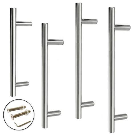 stainless steel door handles excel guardsman stainless steel door pull handle 19mm