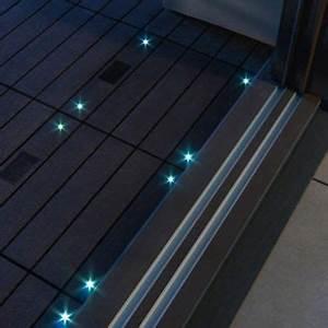Dalle Terrasse Clipsable : dalle balcon emboitable en composite avec led 30 x 30 cm ~ Melissatoandfro.com Idées de Décoration