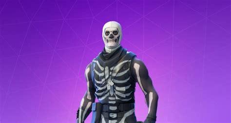 fortnite skull trooper skin tipped  return  halloween