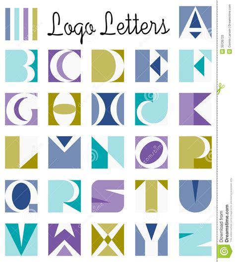 logo letters alphabeteps stock vector illustration  design