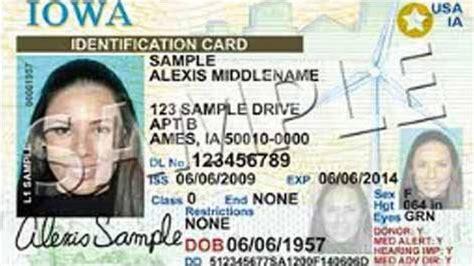 iowa enacts  id card iowa news qctimescom