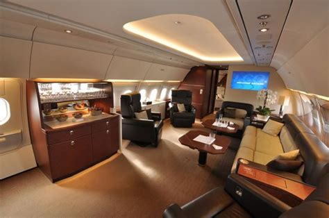 airbus acj private jet   worlds largest corporate jet cabin