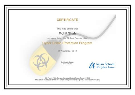 free certificate courses free certification by asian school of cyber laws