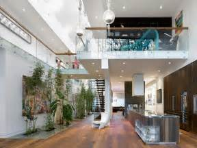 homes interior designs modern custom home with central atrium and interior bamboo garden idesignarch interior
