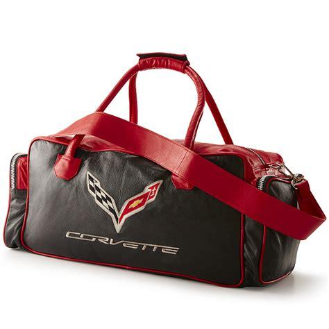 corvette black  red duffel bag rpidesignscom