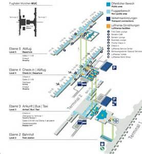 Munich International Airport Terminal Map