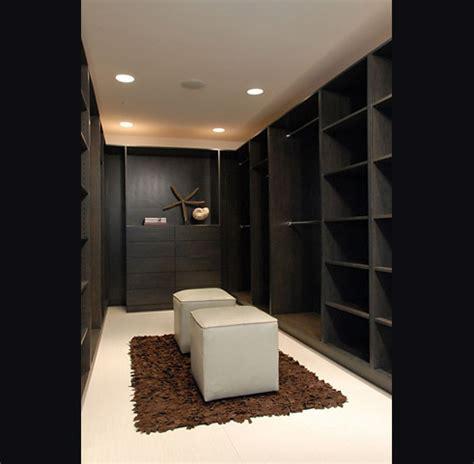 dark built  cabinets contemporary closet nicole
