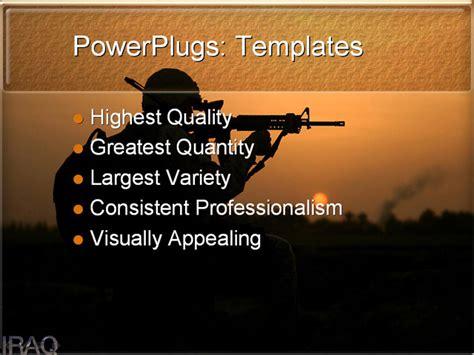 iraq powerpoint template background  iraq war middle