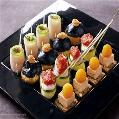 canape filling ideas gorgeous canapes food tables