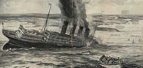 the sinking of the lusitania from the perspective of the