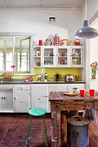 deco cuisine le style retro et vintage cote maison With deco retro cuisine