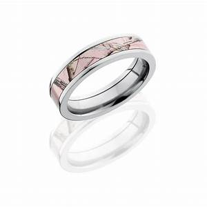 pink realtree camo 5mm titanium band With womens pink camo wedding rings