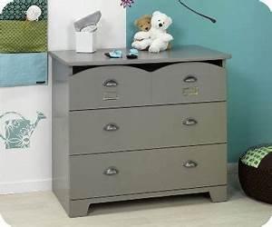 Commode À Peindre : chambre enfant commode gris farrow and ball ~ Carolinahurricanesstore.com Idées de Décoration