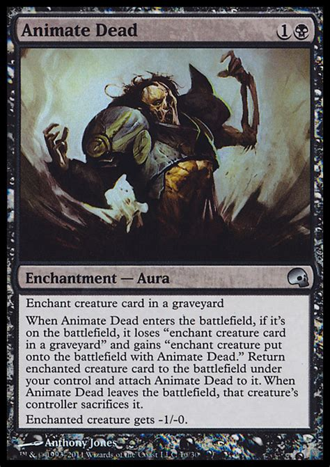 Mtg World Chionship Decks Wiki by Animate Dead Enchantment Cards Mtg Salvation