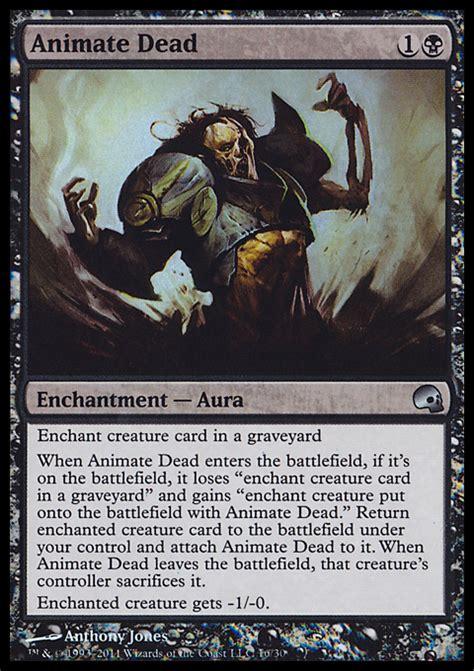 mtg world chionship decks wiki animate dead enchantment cards mtg salvation
