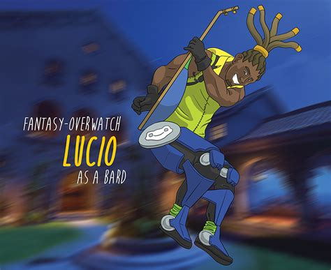 Lucio Animated Wallpaper - overwatch lucio highscore kid