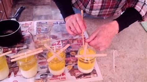 candle making  etham mountain youtube