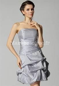 robe de cocktail courte bustier ballon taffetas lacage With robe de cocktail combiné avec bracelet boule argent