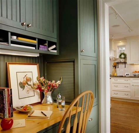 benjamin moore caldwell green cabinets  island