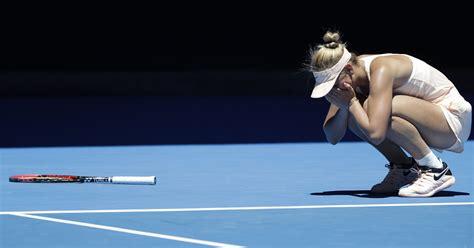 Age 15 and bold, Marta Kostyuk enjoying Aussie Open run
