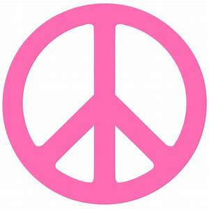 Pictures Of Pink Zebra Print Peace Sign - ClipArt Best
