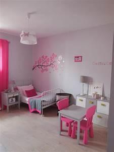 chambre fushia et grise domozoomcom With chambre gris et rose fushia