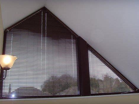 angle top angle bottom  triangle window treatments