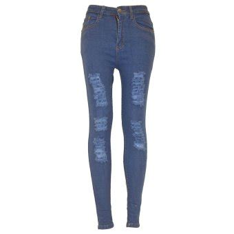 balaynor ladies jeans maong blue lazada ph