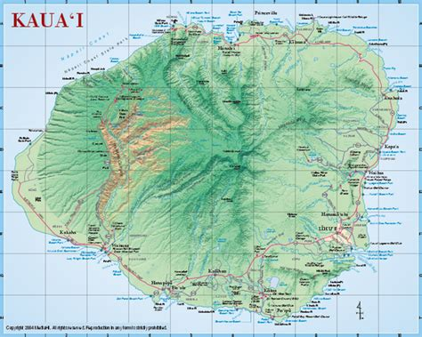 map  kauai world map weltkarte peta dunia mapa del