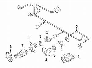 Audi A7 Parking Aid System Wiring Harness - 4g8971095ak