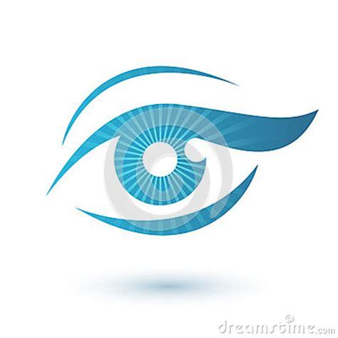 woman eye logo beauty symbol stock vector image