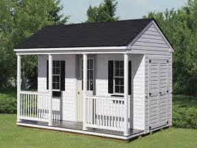 Shed With Porch by Storage Sheds And Garages Storage Sheds With Porches