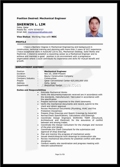 malaysia best resume in construction profesional resume