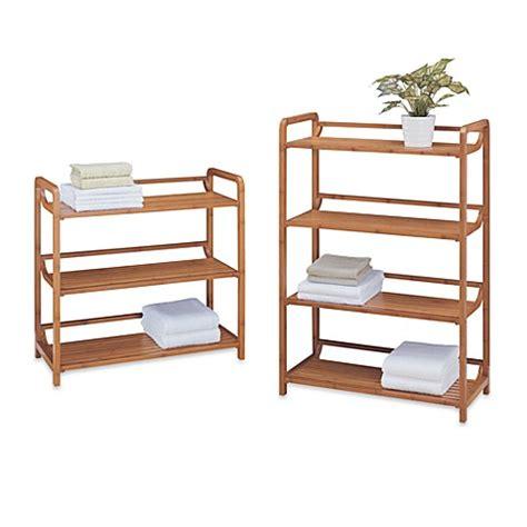 bed bath and beyond bookcase neu home lohas bamboo shelf www bedbathandbeyond com
