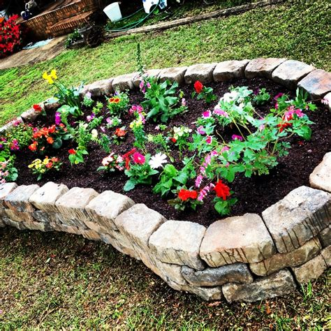 pictures of raised flower beds beautiful flowers