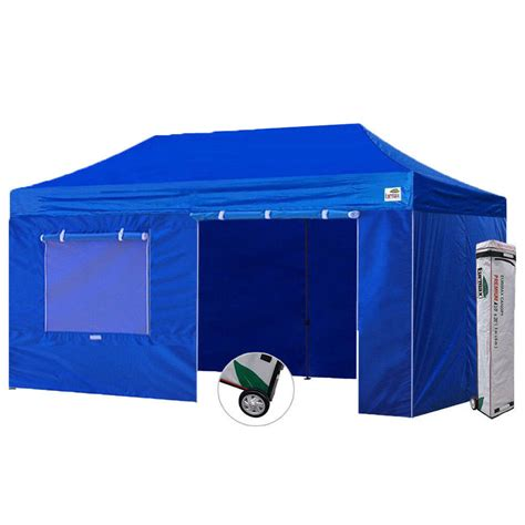 ez pop  canopy tent commercial canopy gazebo   sidewalls select color ebay
