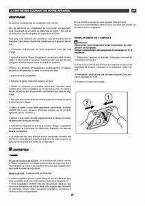 Berjaya Freezer Instructions Manual